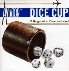 Dice Cup w/5 Regulation Dice
