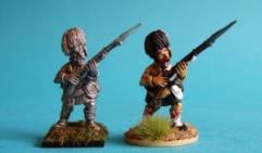 British Highlander Unit - Advancing