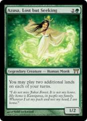 Azusa, Lost but Seeking (R) (Foil)