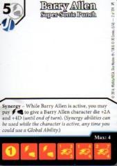 Promo Card - Barry Allen, Supersonic Punch (Artless)