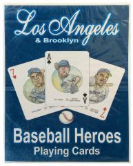 Baseball Heroes Playing Cards Set