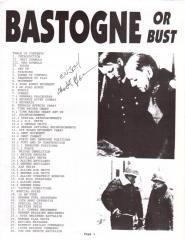 Bastogne or Bust (Limited Edition)