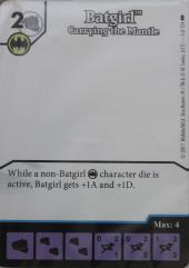 Promo Card - Batgirl, Carrying the Mantle (Artless)