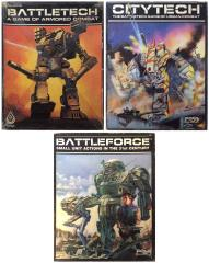 Battletech Three Pack - Base Game + 2 Expansions!