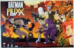 Batman Fluxx Promo Poster - Villains