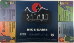 Batman - The Animated Series Dice Game - Playmat