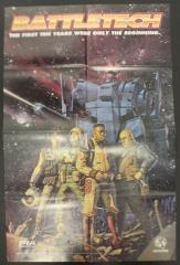 Battletech 10th Anniversary Poster