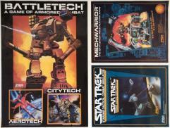 Battletech/Star Trek Advertisement Poster Mark Up Page