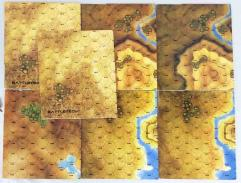 Battletech Map Collection - 7 Cardstock Maps!
