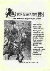 "#5 ""The Adventure of the Saxon Knight, Family History for 495 A.D., The Pendragon Glossary Part 4"""