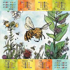 Bee Lives Playmat