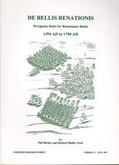 De Bellis Renationis - Wargames Rules for Renaissance Battles 1494-1700 (Version 1.1)