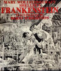 Frankenstein Ad Poster