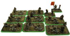 Machine-Gun Team w/Command & Kommisar Teams