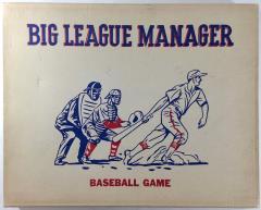 Big League Manager Baseball Game