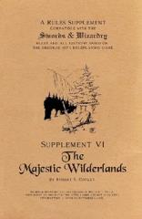 Supplement VI - The Majestic Wilderlands (Alternate Cover)