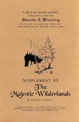 Supplement VI - The Majestic Wilderlands (Alternate Cover)