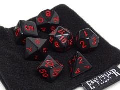 Black Opaque w/Red (7)