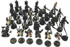 Black Templar Collection #1 - 33 Figures! (Plastic)