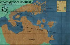 Castorhage Player's Map