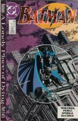 Batman, A Lonely Place of Dying Collection - 3 Issues!