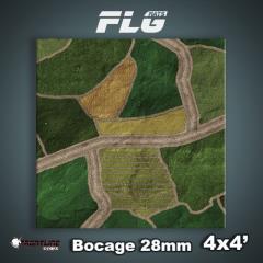 4' x 4' - Bocage 28mm