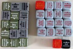 Bolt Action Orders Dice Collection - 33 Dice!