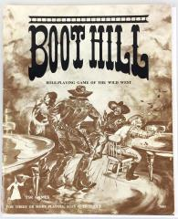Boot Hill (2nd Edition, 1st Printing) - Book Only!
