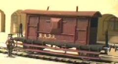 Brake Van Train Car (20mm)
