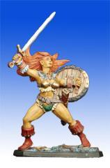 Breann - Human Barbarian