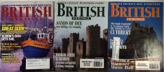 British Heritage Magazine Collection - 3 Issues!