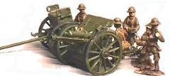 British Gun Crew w/Tin Hats