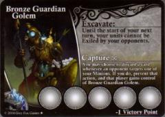 Conquest of Speros - Bronze Guardian Golem (Kickstarter Exclusive)