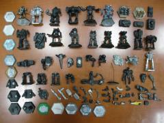 Battletech Miniatures & Bits Lot