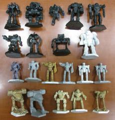 Battletech Plastic Miniatures Collection #3 - 20 Figures