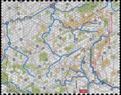 "Battle of the Bulge '81 - 5/8"" Winter Map"