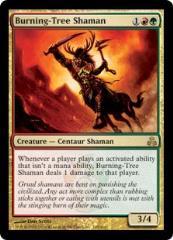 Burning-Tree Shaman (R) (Foil)