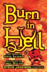 Burn in Hell (1st Printing)