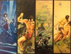 Edgar Rice Burroughs 4 Bookmark Set (Kickstarter Exclusive)