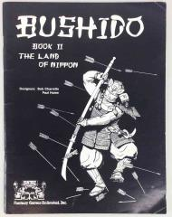 Bushido (2nd Edition, 1st Printing) - Land of Nippon Book Only!