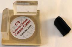 C4 Corner Cutter - Khaki w/Foam Base