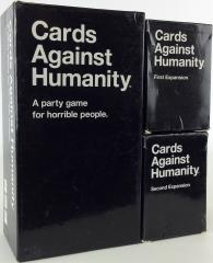 Cards Against Humanity 3-Pack, Base Game + 2 Expansions!