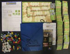 Carcassonne Collection #4 - Carcassonne, Inns & Cathedrals, and Traders & Builders