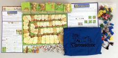Carcassonne Collection #6 - Base Game + 3 Expansions!