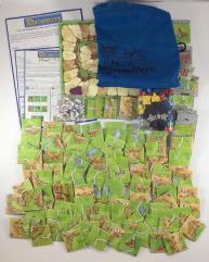 Carcassonne Collection #5 - Base Game + 3 Expansions