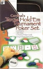 Texas Hold'em Tournament Poker Set