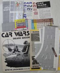 Car Wars Collection #2 - Base Game + Four Expansions!