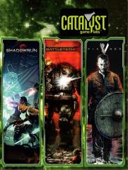 Promo Portfolio - Shadowrun, Battletech, Vikings