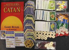 Settlers of Catan, The - 2nd Printing Parts Collection