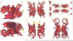 Set #13 - Red Dragons
